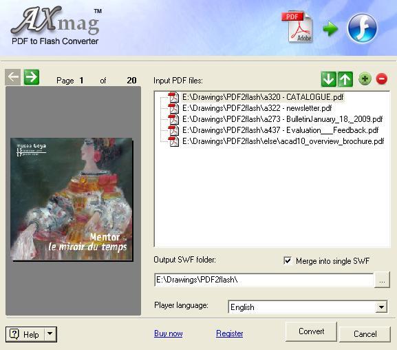 aXmag Online Magazine Creator 10.01 screenshot